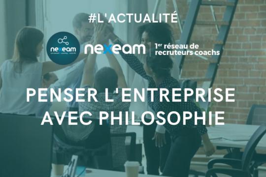 Nexeam - Actualités - Penser l'entreprise avec Philosophie