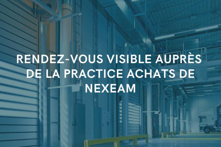 Nexeam - Actualités - La practice achat de Nexeam